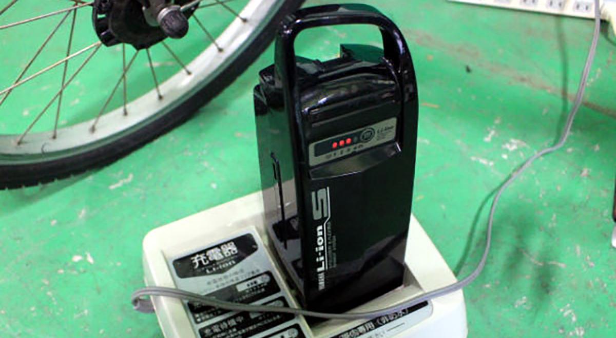 バッテリーとタイヤのチェック。