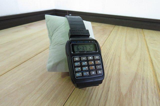 Paul-Frank-腕時計-電卓付きデジタルウォッチを買取ました。@さいたま市西区(ID:2255)