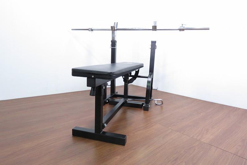 ファイティングロード-トレーニングベンチ-シャフト付き-シャフト高さ82~92cm-長さ160cmを1000円で買取ました。@久喜市(ID:5767)