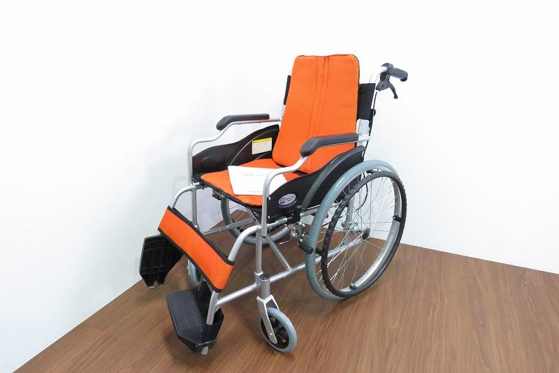 Care-Tec-Japan-ケアテックジャパン-車椅子-カラー-オレンジを1000円で買取ました。@白岡市(ID:5814)