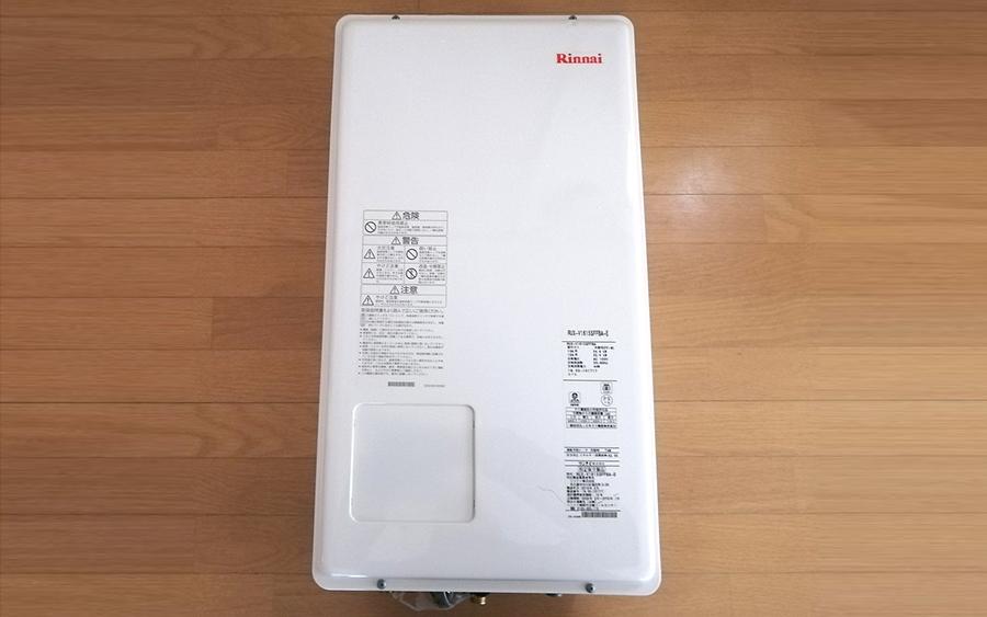 給湯器 Rinnai RUX-V1615SFFBA-E リンナイ 都市ガス 12A 13A 壁掛け 16号 屋内 FF方式 2019年