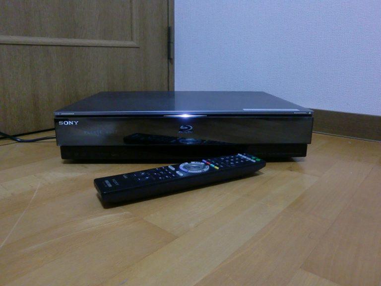 ジャンク SONY BDZ-X95 ブルーレイレコーダー プレーヤー HDD 500GB 2番組同時録画 地デジ B-CAS RMT-B004J 付き