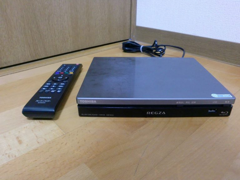 ブルーレイディスクプレーヤー ライター TOSHIBA DBP-R500 REGZA 東芝 レグザ リモコン 付き SE-R0405