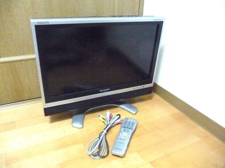 液晶テレビ SHARP AQUOS LC-20EX1-S シャープ アクオス 20インチ 20型 地デジ B-CAS リモコン 付属