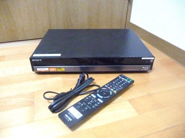 ブルーレイレコーダー SONY BDZ-RS15 ソニー 320GB Blu-ray フルハイビジョン 10倍録画 おまかせリモコン RMT-B006J B-CAS 地デジ