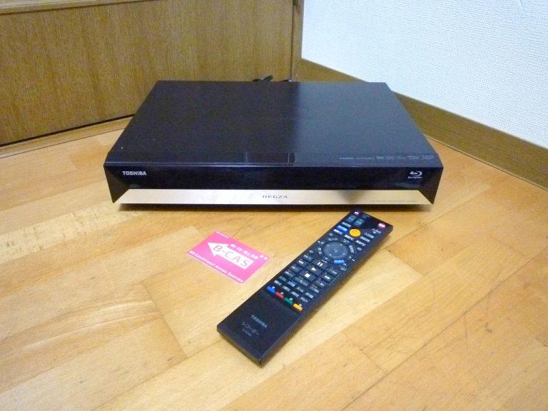 ブルーレイレコーダー TOSHIBA REGZA RD-BR600 東芝 レグザ HDD 500GB B-CAS リモコン SE-R0386 付属 3Dディスク AVCREC