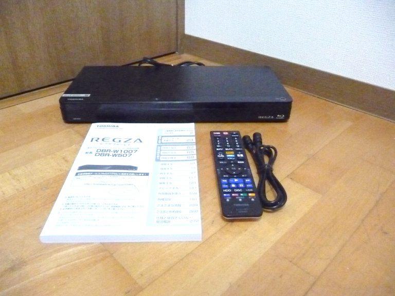 ブルーレイレコーダー TOSHIBA REGZA DBR-W507 SE-R0466 HDD 500GB 4K 東芝 レグザ おまかせダビング レグザリンク シェア