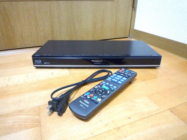 ブルーレイレコーダー Panasonic DIGA DMR-BWT510 パナソニック ディーガ 500GB N2QAYB001217 B-CAS 訳アリ