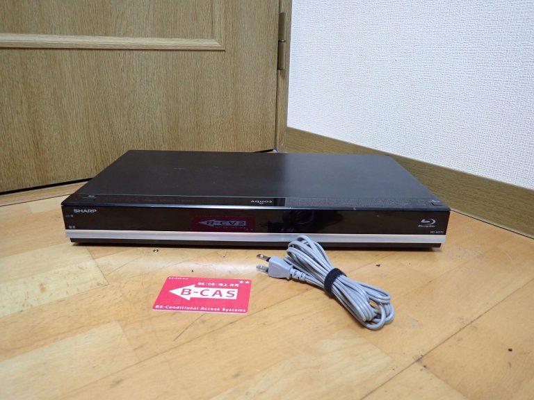 ブルーレイレコーダー SHARP AQUOS BD-W570 シャープ アクオス プレーヤー 500GB B-CAS 付属 DVD ドラ丸 簡単サクッと検索