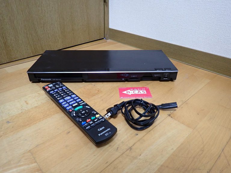 ブルーレイレコーダー Panasonic DIGA DMR-BRZ1010 パナソニック ディーガ DVDレコーダー 1TB リモコン N2QAYB001056 B-CAS