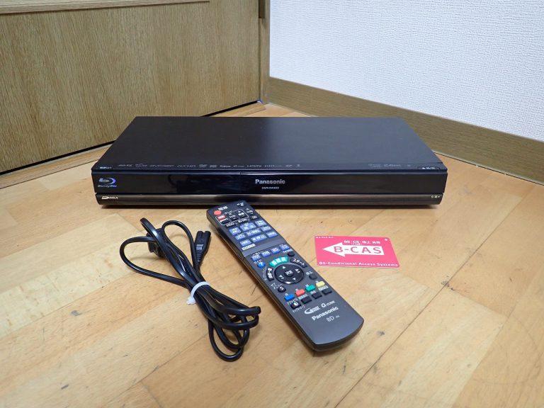 ブルーレイレコーダー Panasonic DIGA DMR-BW690 パナソニック ディーガ プレーヤー HDD 500GB B-CAS リモコン N20AYB000554