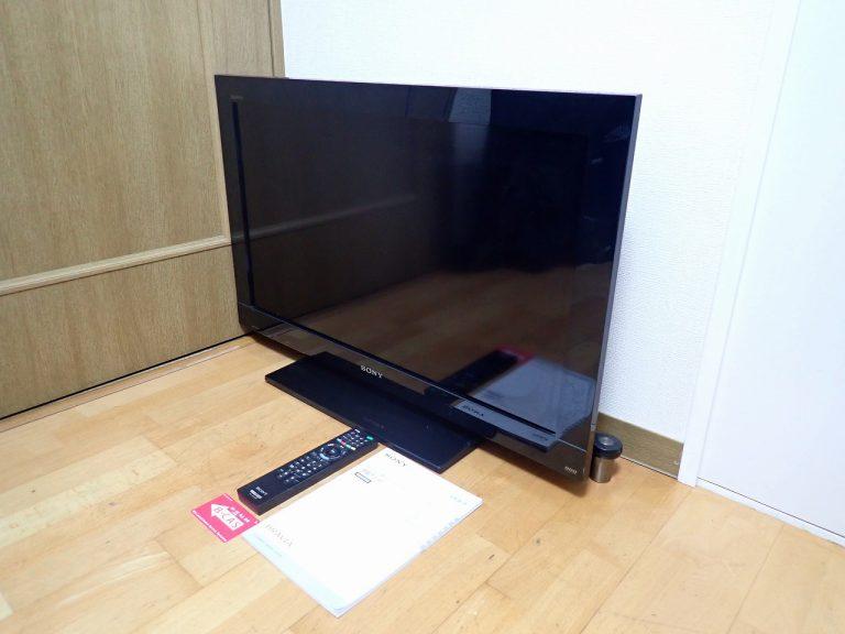液晶テレビ SONY BRAVIA KDL-32BX30H ソニー ブラビア 32型 32インチ 500GB HDD内蔵 B-CAS リモコン RM-JD020