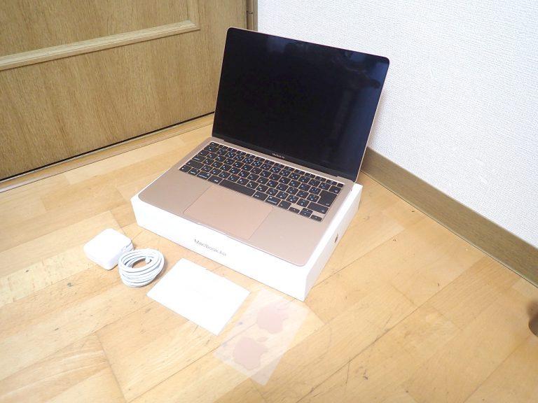 MacBook Air Apple MWTL2J/A Catalina Core i3 1.1GHz メモリ 8GB 13.3インチ Retina SSD 256GB 2020年 マックブックエア