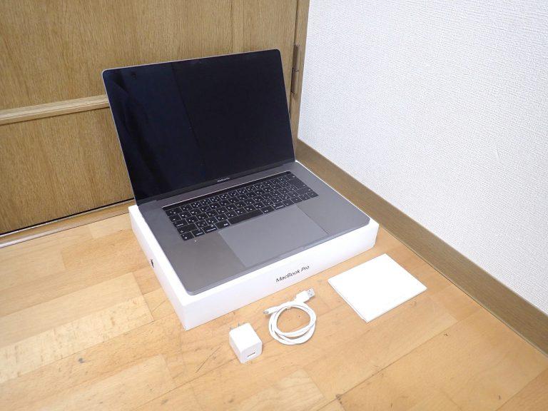 MacBook Pro Apple Z0WW000J9 Mojave Core i9 2.3GHz メモリ 16GB SSD 1TB 15.4インチ Touch Bar アップル マックブックプロ