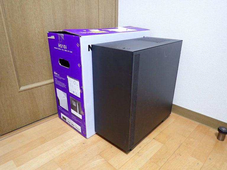 PCケース NZXT H510i コンパクトミドルタワー ATX スマートデバイス ガラス デスクトップパソコン ブラック