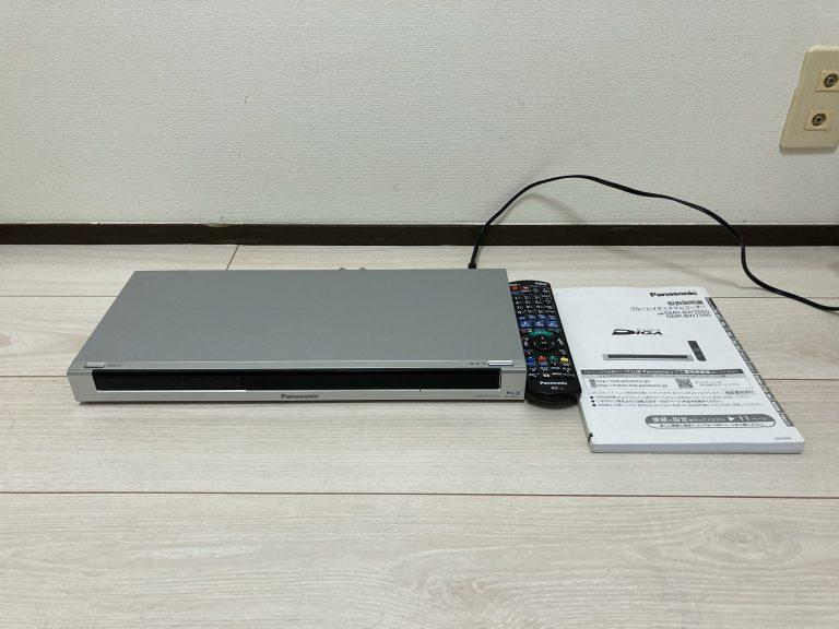 Panasonic パナソニック ハイビジョンブルーレイレコーダー DMR-BWT550
