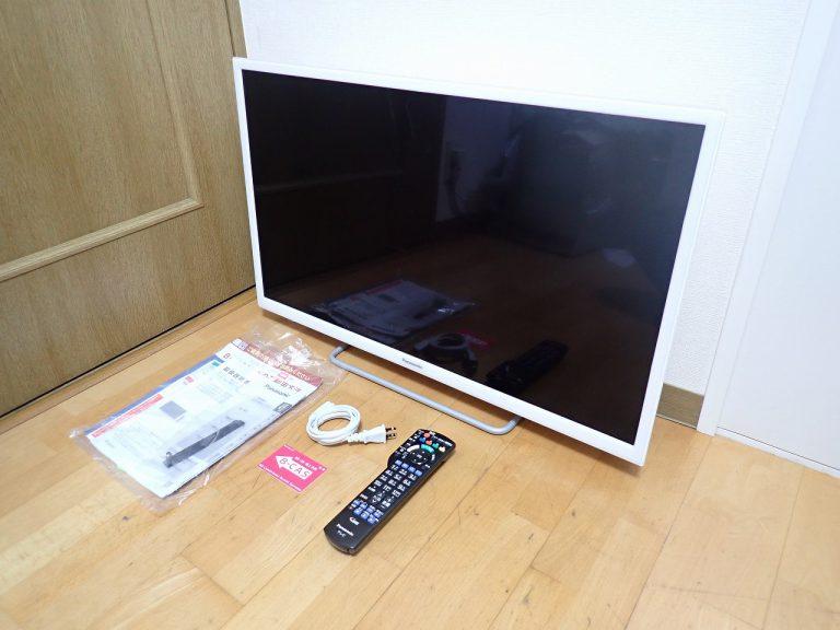 液晶テレビ Panasonic VIERA TH-32ES500-W パナソニック ビエラ ホワイト 白 TV Remote2 B-CAS リモコン N2QAYB001165